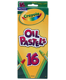 Crayola Oil Pastels - 16 Colours