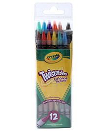 Crayola Twistables Colored Pencils - 12 Pencils