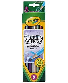 Crayola Metallic Colored Pencils - 8 Pencils