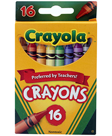 Crayola Crayons - 16 Colours