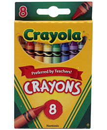 Crayola Crayons - 8 Colours