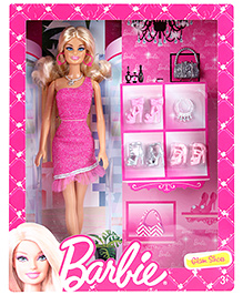 Barbie Doll Glam Shoes  - Height 29 cm