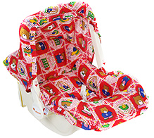 Infanto Baby Love Deluxe Carry Rocker - Teddy Dotted Tree Cock Print