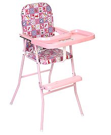 Infanto High Chair - Pink