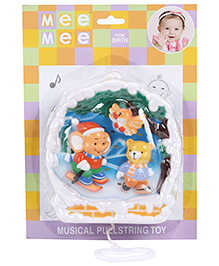 Mee Mee Musical Pulling Toy - Multi Color