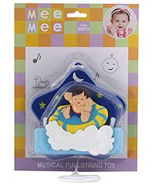 Mee Mee Musical Pullstring Toy - Blue