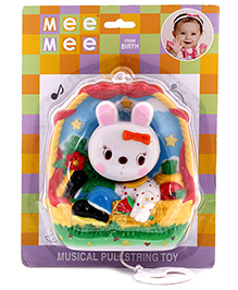 Mee Mee Musical Pull String Toy - Doll Design