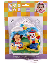 Mee Mee Musical Pull String Toy - Joker Design