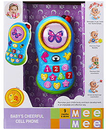 Mee Mee Babys Cheerful Cell Phone