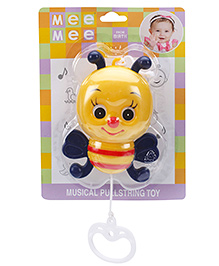 Mee Mee Pullstring Toy Butterfly - Yellow And Black