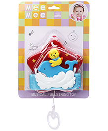 Mee Mee Pulling Toy - Blue And Yellow