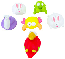 Mee Mee Bath Toy - Set of 6