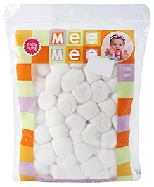 Mee Mee Cotton Balls - 100 gm