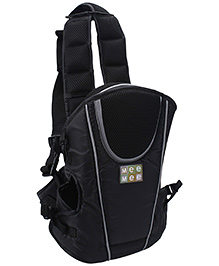 Mee Mee Baby Carrier 4 Way Soft And Premium - Black