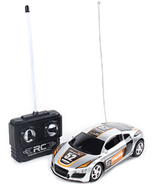 Fab N Funky Remote Control Mini Car - Silver