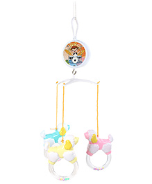Fab N Funky Musical Cot Mobile Multicolor Sheep Shape