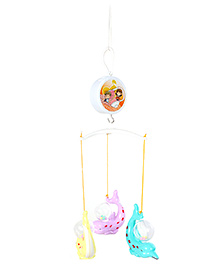 Fab N Funky Musical Cot Mobile Multicolor Dolphin Shape