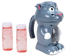 Fab N Funky Cat Shape Bubble Gun - Grey