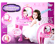 Fab N Funky Piano With Jewlry Set - Pink