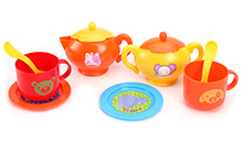 Fab N Funky Tea Set - Multi Color