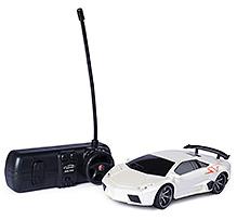 Fab N Funky Remote Control Car - Silver