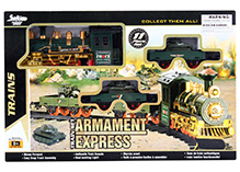 Fab N Funky Military Train Set - Dark Green