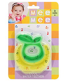 Mee Mee Cool Water Filled Teether Apple - Yellow