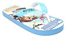Looney Tunes Printed Flip Flop - Sky Blue