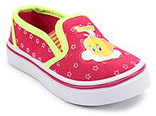 Tweety Canvas Shoes - Fuchsia