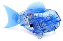 Hexbug Aquabot Smart Fish With Bowl - Light Blue