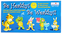 Creative Be Healthy Be Wealthy Board Game