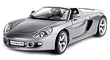 Maisto Porsche Carrera GT - Grey