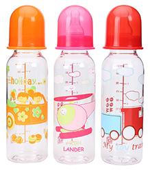 Mee Mee Feeding Bottle 260 Ml - Set Of 3 - 3 Months+