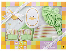 Mee Mee Baby Gift Set - 8 Pieces