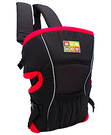 Mee Mee 4 In 1 Baby Carrier - Black And Red