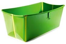 FlexiBath Foldable Baby Bathtub - Green