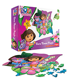 Funskool Dora Flower Puzzle - 62 Pieces
