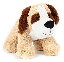 Play N Pets Dog Soft Toy - Light Brown