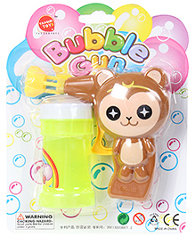 Fab N Funky Cat Shape Bubble Gun - Brown