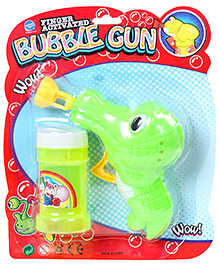 Fab N Funky Bubble Gun - Green