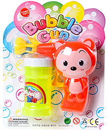 Fab N Funky Animal Design Bubble Gun - Orange