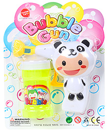 Fab N Funky Panda Shape Bubble Gun - Black And White