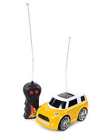 Fab N Funky Velocity Mini Racing Remote Control Car - Yellow