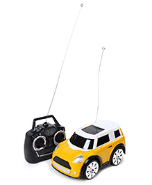 Fab N Funky Remote Control Mini Car - Yellow