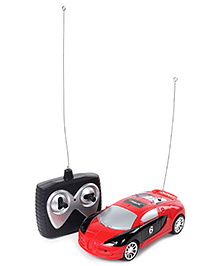 Fab N Funky Remote Control Car Dual Color - Red and Black