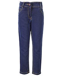 Babyhug Full Length Jeans - Blue
