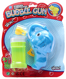 Fab N Funky Elephant Design Bubble Gun - Blue