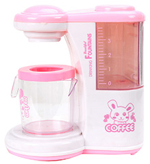 Fab N Funky Coffee Machine - White And Pink