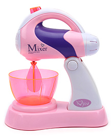Fab N Funky Kitchen Mixer Set - Pink And white