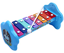 Fab N Funky Xylophone Music Marker Print - Blue